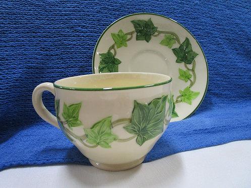 Franciscan Ivy Teacup and Saucer Set