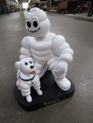 2004 Limited Edition/Numbered Michelin Tire Man and Dog Bobblehead