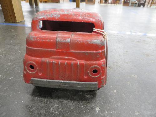 Vintage Structo Oil Gas Wind Up Tanker Truck