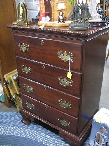 Vintage Craftique Walnut Four Drawer Dresser