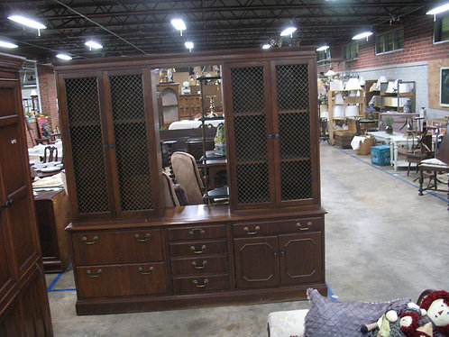 Jofco Office Credenza with Double Storage Tower Top