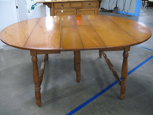 Vintage Empire Furniture Co. Maple Double Drop Leaves and Hidden Leaves