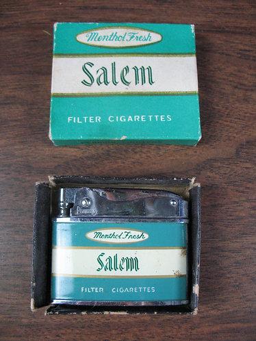 Vintage Penguin Salem Lighter With Box