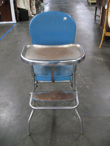 Vintage Cosco Metal High Chair