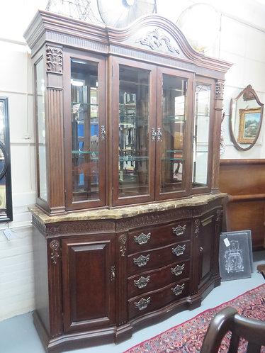 Vintage Bernhardt Furniture China Cabinet