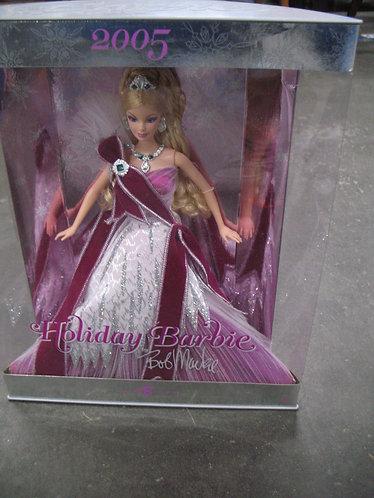 2005 Holiday Barbie by Bob Mackie NIB