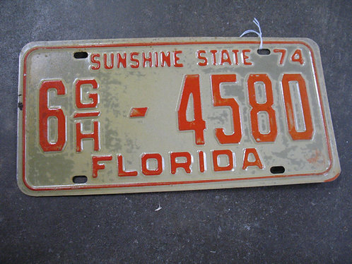 1974 Florida Sunshine State 6 G/H-4580