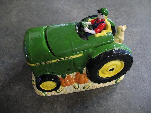 """Vintage John Deere """"Summer Harvest"""" Cookie Jar"""