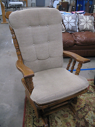 1992 Town Square Glider Rocker with Cushions