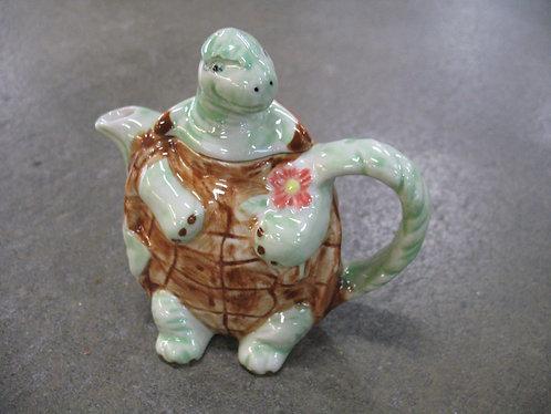 Vintage Andrea by Sadek Tea for One Turtle Decor Teapot