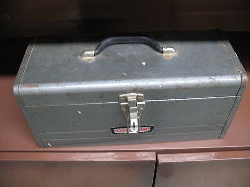 Vintage Metal Sears Craftsman Tool Box
