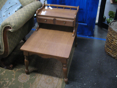 Vintage Mersman Step Side End Side Table