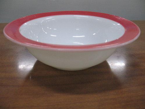 Vintage Pyrex USA Pink Flamingo Serving Bowl