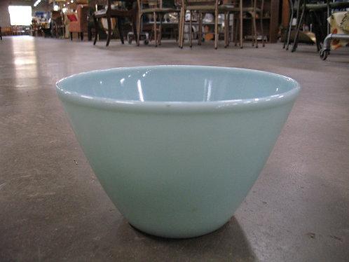 Vintage Fire King Blue Delphite Mixing Bowl