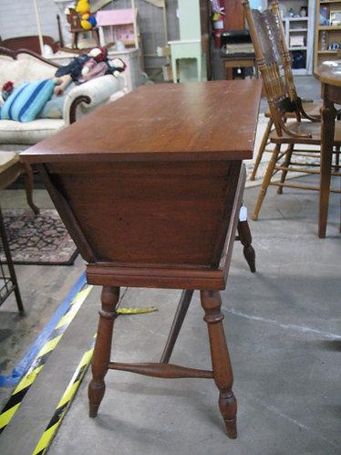 Vintage Dough Box Side End Table