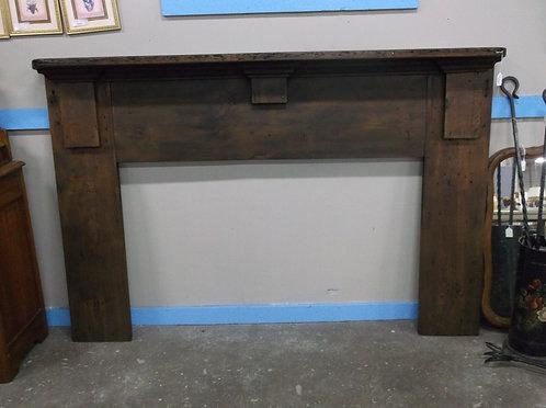Antique Primitive Fireplace Mantle