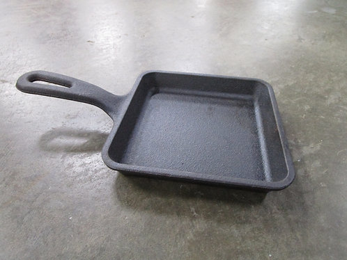 Lodge USA 5WS Egg/Grilled Cheese Square Cast Iron Skillet