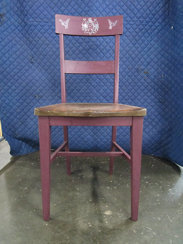 Chair, Cherry Picked DIY Paint, Stamped