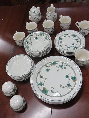 Noritake Keltcraft Ireland Ivy Lane China Set of 35 Pieces
