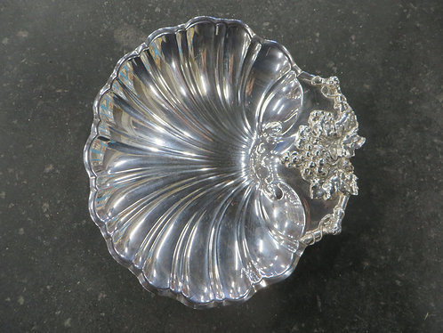 Vintage Reed & Barton Shell Footed Serving Dish