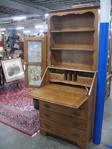 Vintage Ethan Allen Maple Drop Leaf Dresser Secretary