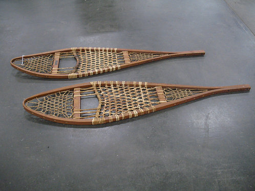 Vintage Snocraft Inc. Made in Maine Snowshoe Pair