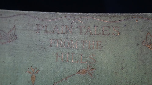 1898 Plain Tales from the Hills - Rudyard Kipling, Henry Altemus