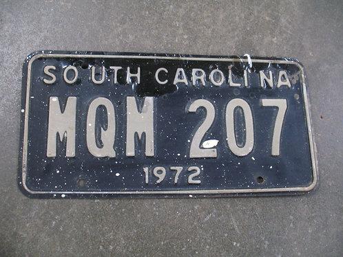 1972 South Carolina MQM 207