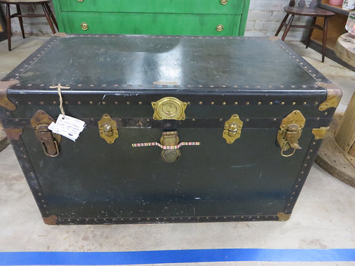 Antique Steamer Trunk with Lift Out Tray