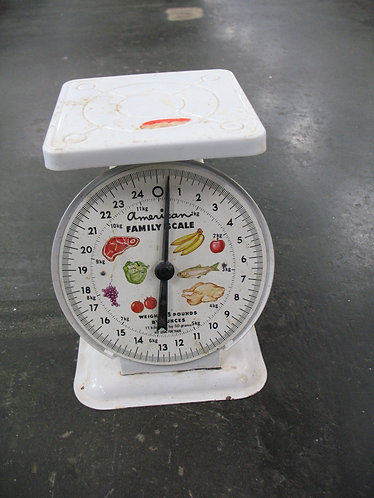Vintage American Family Scale 25 Pound Scale