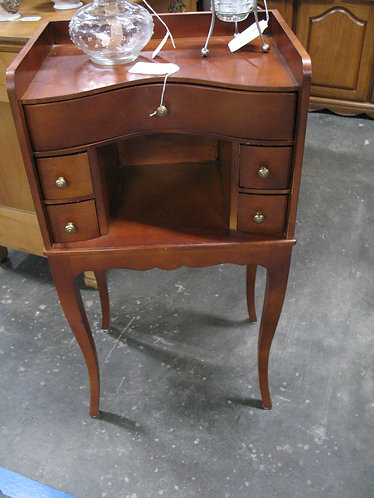 Vintage Wood Jewelry & Accessory Stand