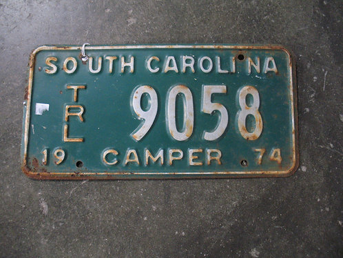 1974 South Carolina Camper 9058