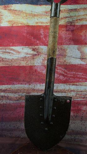 Original WWII Soviet Russian Infantry Shovel - WW2 Dated