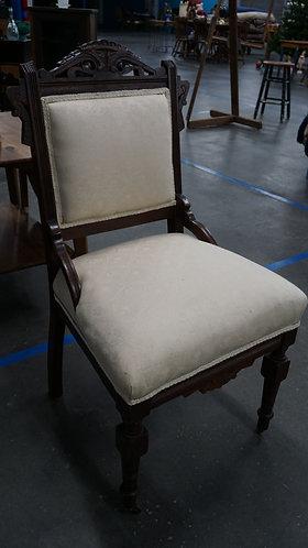 Chair, Eastlake, Victorian Boudoir Chair, 1800s