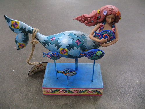 2006 Jim Shore Heartwood Creek Friends In The Sea with Original Box