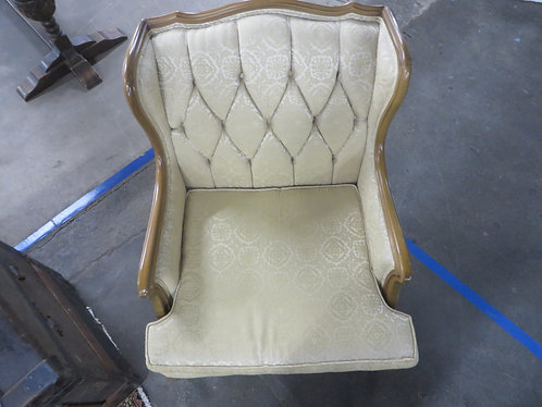Vintage Ross Furniture Co. Tufted Back Wingback Chair
