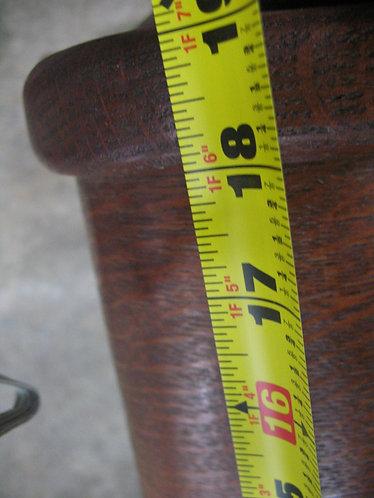 Antique Oak Bentwood Seat Rocking Chair