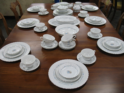Vintage Style House Carillon China Service for 12 Plus Sugar/Creamer & 3 Serving