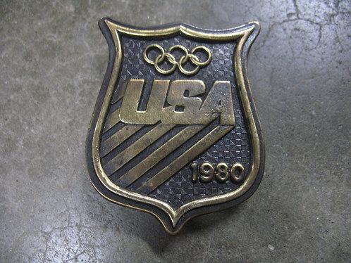 1980 Bergamot USA Olympic Belt Buckle