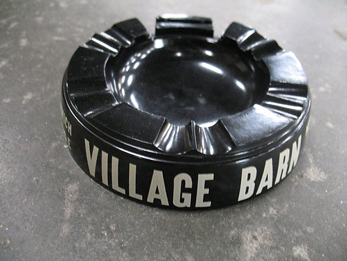 Vintage Village Barn Greenwich Village Molded Plastic Eagle Ashtray