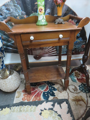 Antique Solid Wood Stand