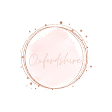 Fashion logo - rose gold, beauty logo, s