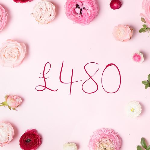 £480 Gift Voucher
