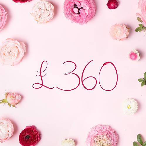 £360 Gift Voucher