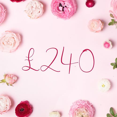 £240 Gift Voucher
