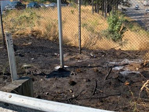 State Patrol: Man arrested for setting fire near SR-512