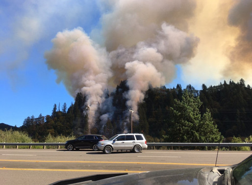 Arson Suspected In Several Wildfires Raging Across Oregon