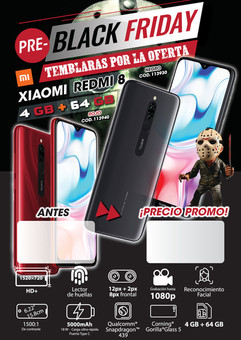 Diseño Smartphone - Black Friday