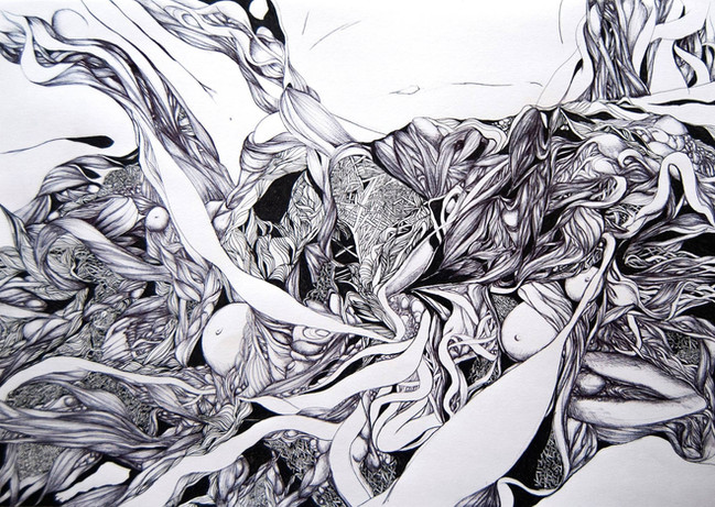 Entangled landscape