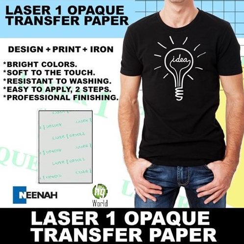 LASER 1 OPAQUE Laser Printer Dark Fabric